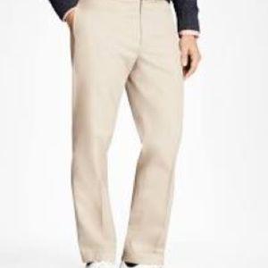 Brooks Brothers Men's Clark Advantage Khaki Chino Pants  36